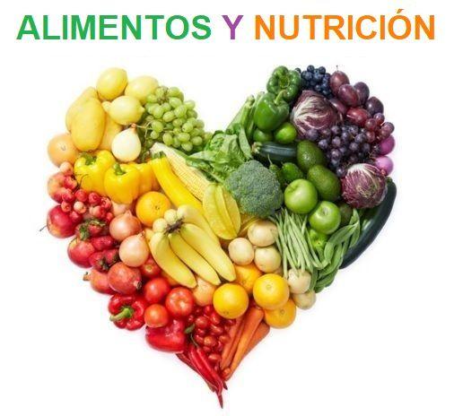 los alimentos y la nutrición