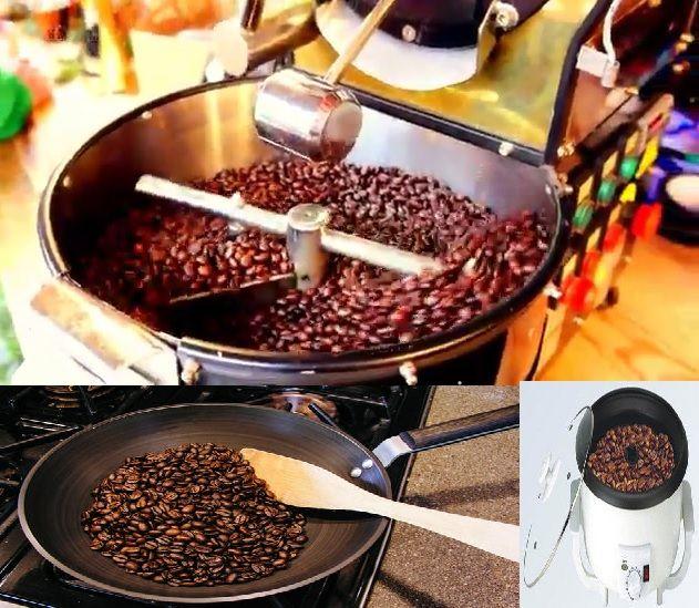tueste del cafe