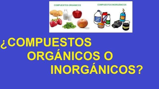Diferencia entre compuestos organicos e inorganicos diferencias entre compuestos organicos e inorganicos urtaz Choice Image