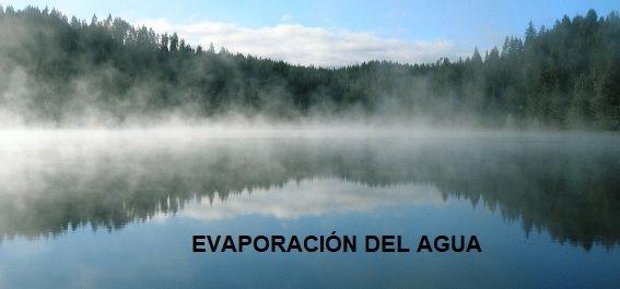 evaporacion del agua