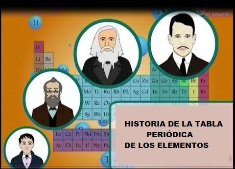 historia de la tabla de los elementos